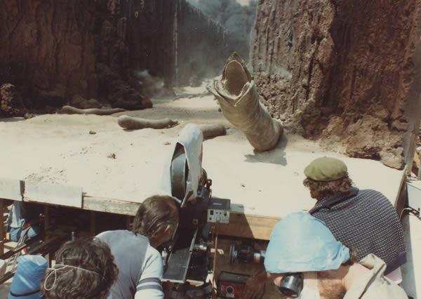 Sandworms Dune Behind The Scenes