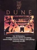 Cover of the cancelled Art of Dune book.