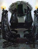 Black Harkonnen Chair. $13,500.